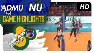 UAAP 80 WV: ADMU vs. NU | Game Highlights | February 7, 2018