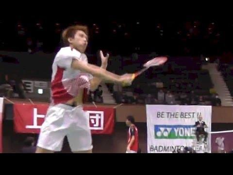 Athlete Tube for Tokyo O... Badminton 田児賢一 vs 西本