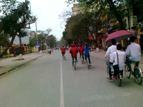 NSL bắc giang đua xe đạp :))
