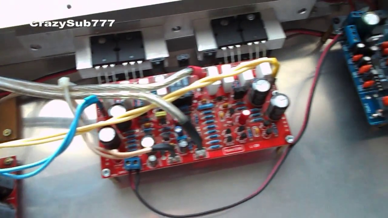 Homemade car amplifier (part 3, amp)