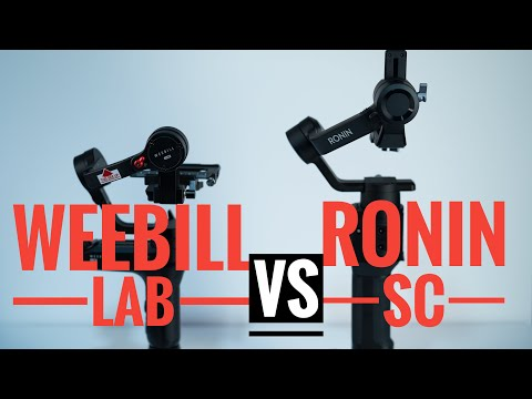 DJI Ronin SC V.S. Zhiyun Weebill Lab Comparison and first look