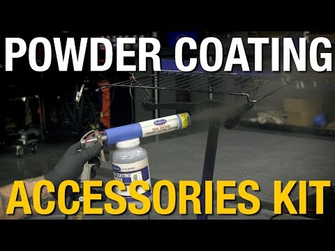 Powder Coating Accessories Kit - Everything To Help Get You Started! Eastwood