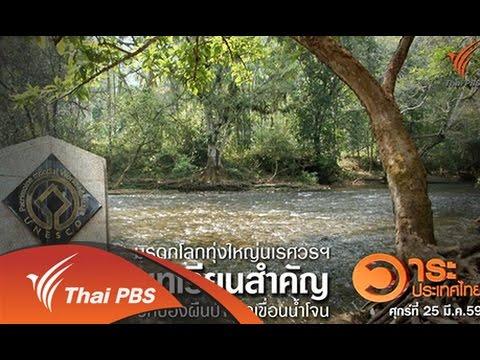 วาระประเทศไทย : มรดกโลกทุ่งใหญ่นเรศวรฯ บทเรียนสำคัญปกป้องผืนป่าจากเขื่อนน้ำโจน  (25 มี.ค. 59)