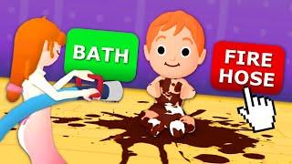 I Made The Worst Parenting Choices - 3 Random Games