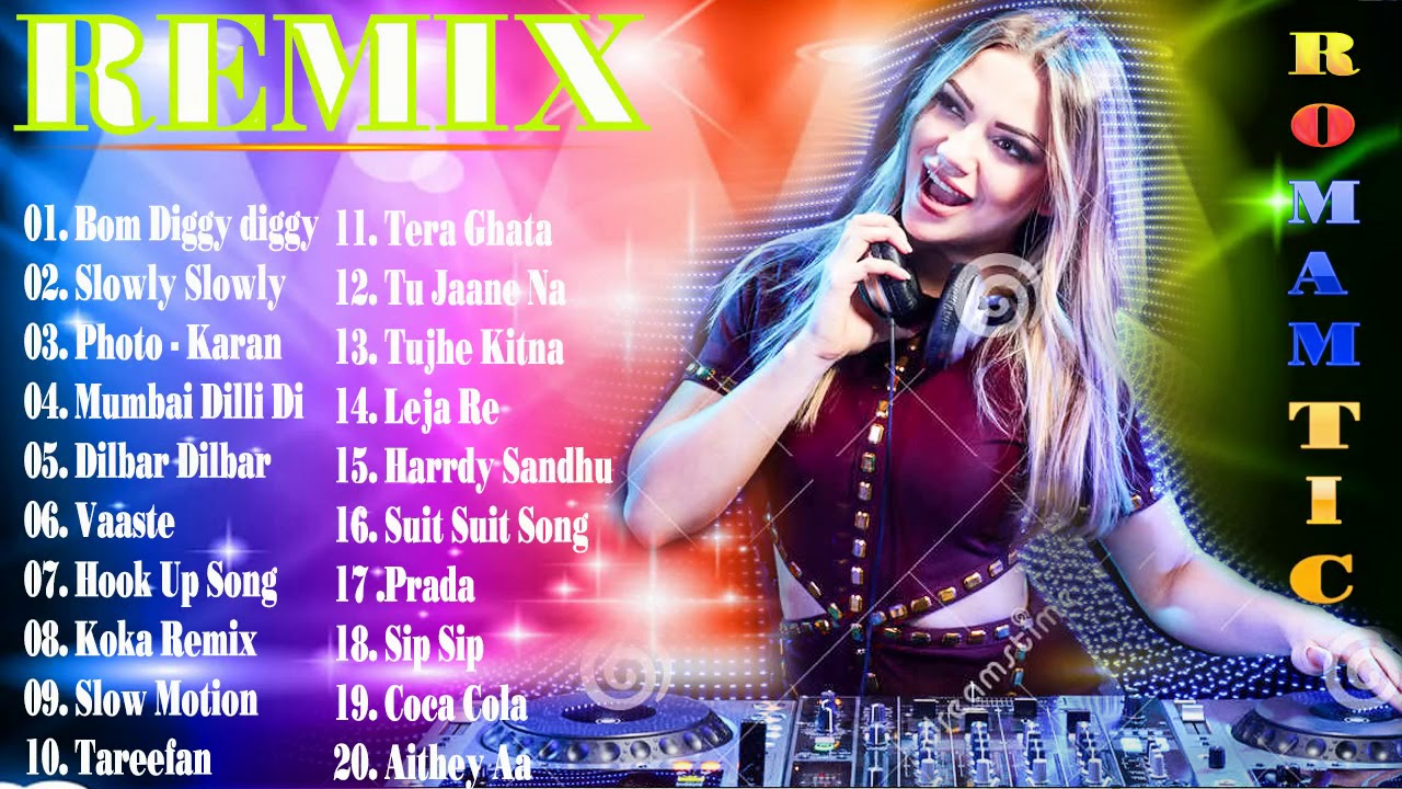 BOLLYWOOD HINDI REMIX ☼ NONSTOP DANCE PARTY DJ MIX ☼ BEST
