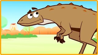 Scutellosaurus | Learn Dinosaur Facts | Dinosaur Cartoons for Children By I