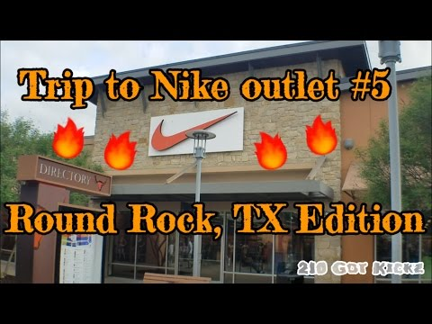 Trip to the Nike outlet - Round Rock TX Edition...