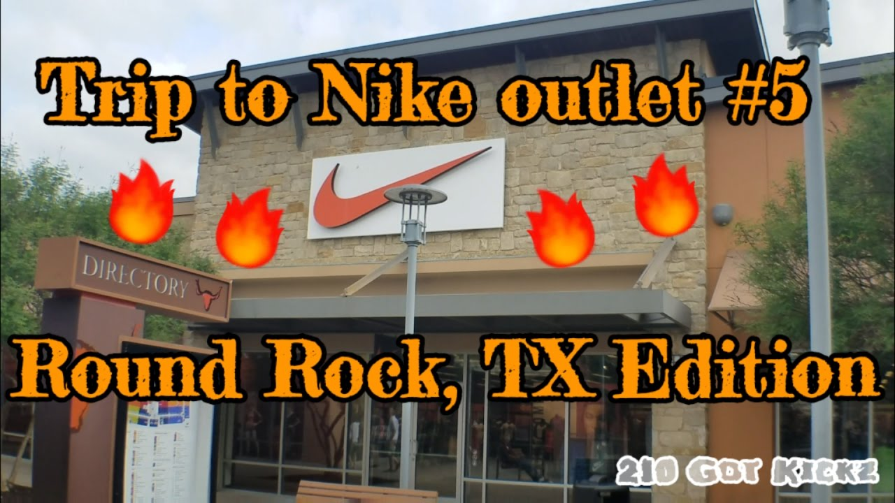cheap for discount a7038 6961b Trip to the Nike outlet - Round Rock TX Edition.