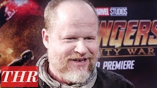 Thr joins joss whedon on the red carpet of 'avengers: infinity war' in hollywood to talk about much anticipated marvel film!subscribe for ...