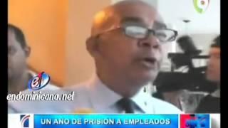 ¡A prisión! Ocho empleados de Aduanas por robo en Aeropuerto del Cibao