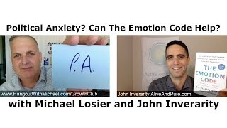 Episode #99 Political Anxiety? Can The Emotion Code Help?