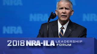 Oliver North named NRA president