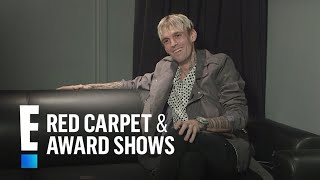Why Aaron Carter Chooses to Support Charities | E! Live from the Red Carpet