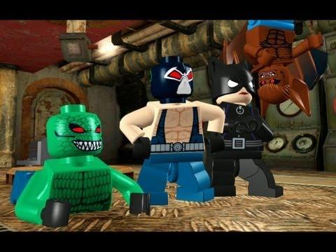 LEGO Batman 100% Guide - Villains Episode 2-1 - Rockin' the Docks ...