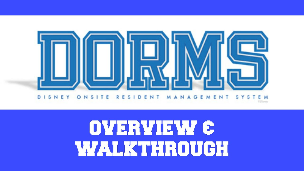 Disney College Program DORMS Overview Walkthrough and Tips