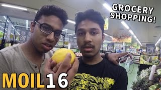 GROCERY SHOPPING WITH HARVINTH & TANESH!
