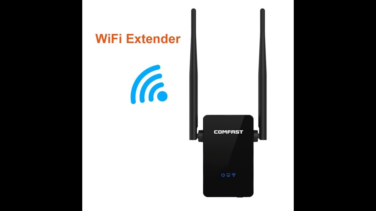 Comfast wi fi range extender amplifier 300mbps wireless n - Wireless extender with ethernet ports ...