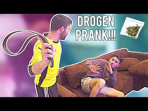 DROGEN PRANK an kurdischen Onkel ENDET MIT GÜRTEL !!!