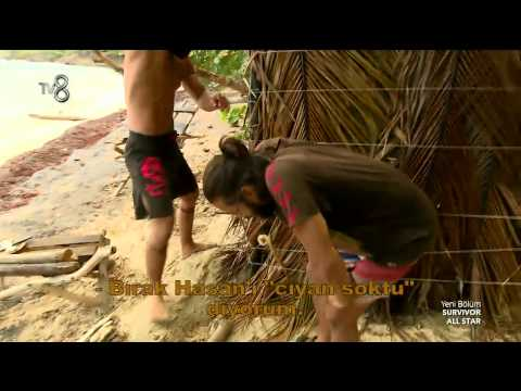 Survivor All Star - Hilmi Cem'in Eli Böcek Isırığından Şişti (6.Sezon 32.Bölüm)