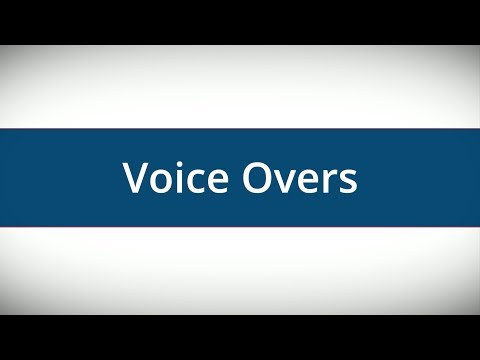 Tips For Using Voice Overs In Online Marketing Videos