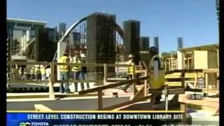 KFMB New Central Library construction update