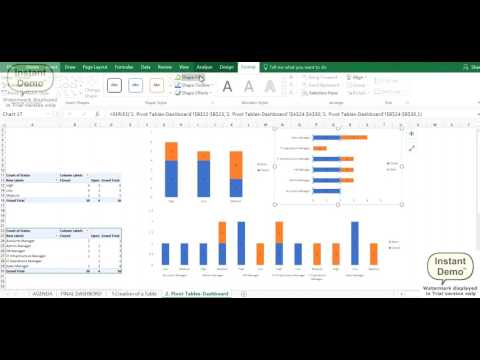10 minutes - Creating Interactive Dashboards using Pivots, Slicers and Timelines in excel