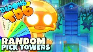 NIE LUBIE TEJ MAPY | Random Pick Towers | Bloons TD6 PL