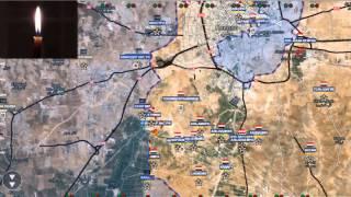 Обзор карты боевых действий в Сирии за 01 11 2015 год
