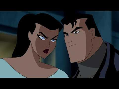 Batman and Wonder Woman kiss