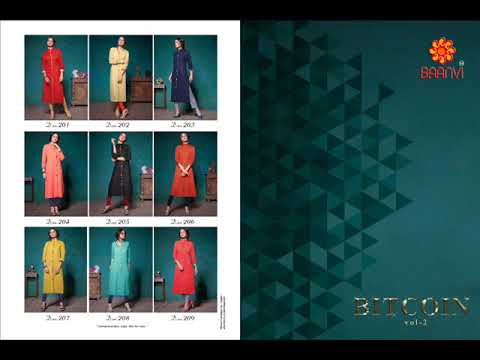 BITCOIN VOL 2 BY BAANVI|BANDHANI PALACE BEST BAANVI BRAND COLLECTION