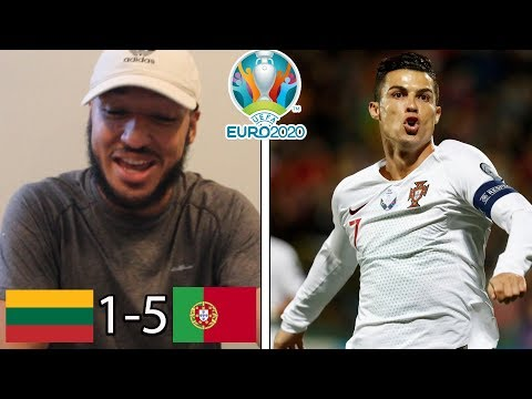 RONALDO QUADRUPLE! CR7 IS BACK! | LITHUANIA 1-5 PORTUGAL REACTION (Euro 2020 Qualifying)