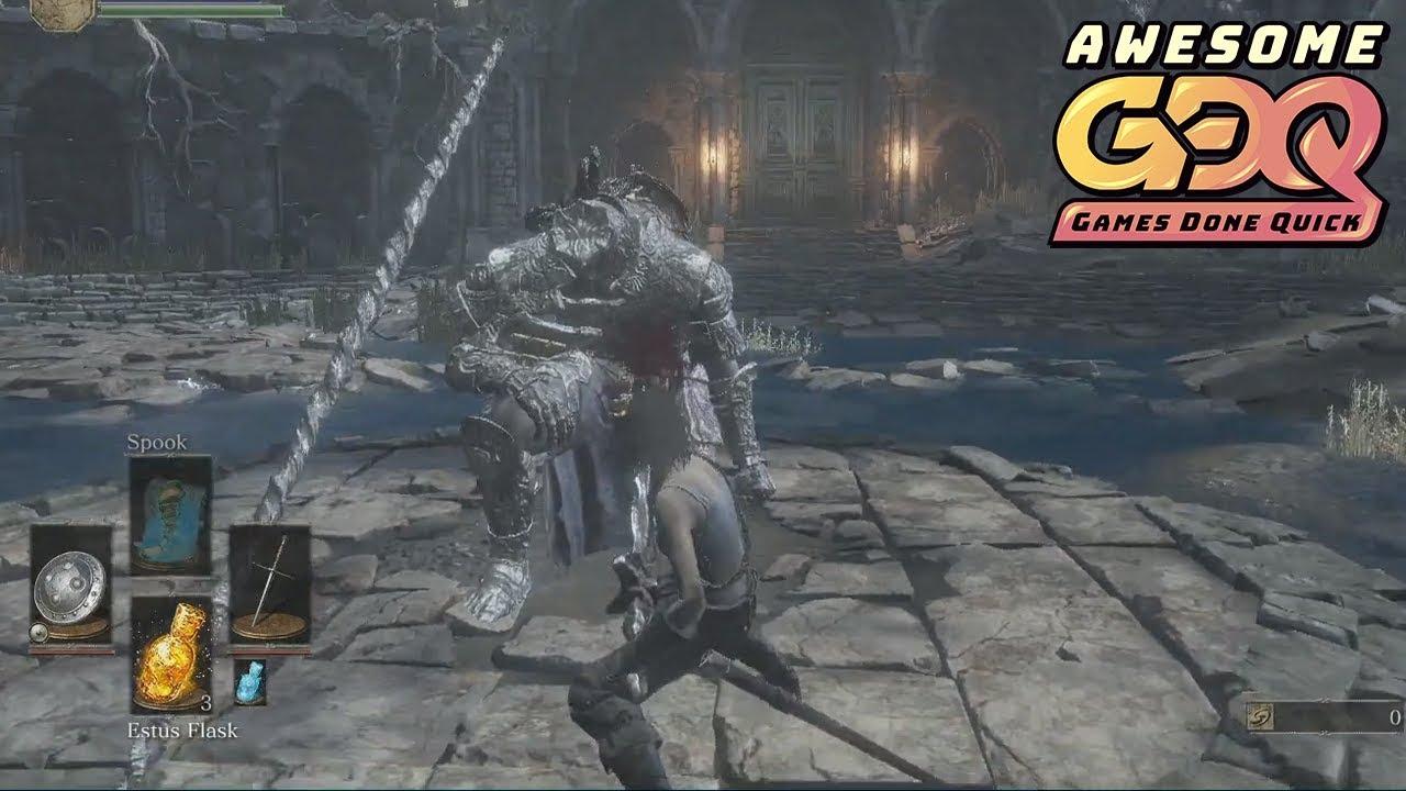 Dark Souls 3 Speedrun Any% GLITCHLESS (GERMAN) in 1:28:52 IGT PB