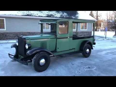 1929 Chevrolet Canopy Express Truck & 1929 Chevrolet Canopy Express Truck - YouTube