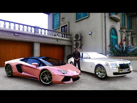 MO VLOGS ✪ THEY HATED MY PINK LAMBORGHINI ... ✪ GTA 5