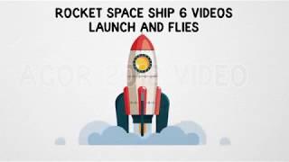 Rocket Space Ship Launch And Flies | Видеоуроки kopirka-ekb.ru