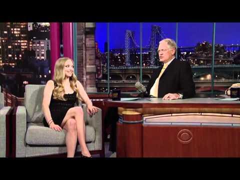 Amanda Seyfried on  David Letterman  [March 2011 ]