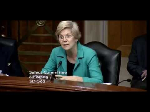Senator Elizabeth Warren - Older Americans and Student Loan Debt