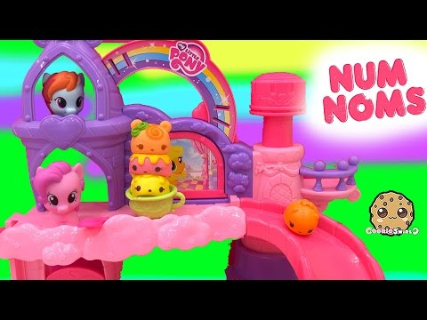 04 34 MLP Babies Rainbow Dash Pinkie Pie Play Video Unboxing Scented Num  Noms Sour Citrus Cupcake Pack 5c4ec5570a06