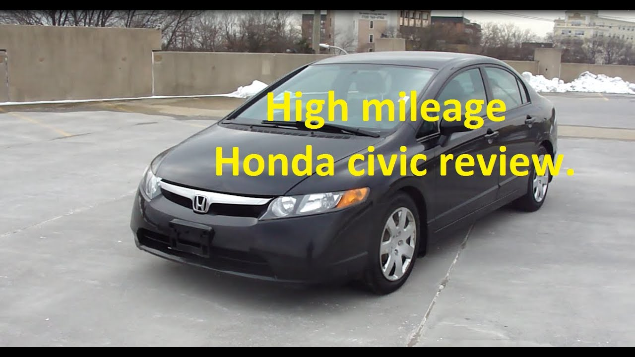 Nice High Mileage 2007 Honda Civic LX Review, What To Expect