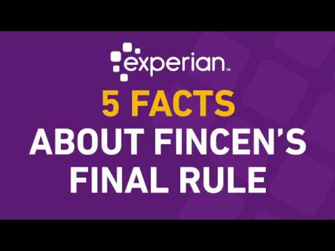 5 Facts About The FinCEN Final Rule on Beneficial Ownership