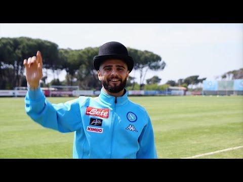 Omaggio a Totò dalla SSC Napoli