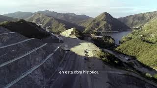 Nuevo puente sobre el lago San Roque.