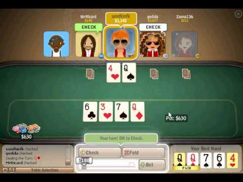 Miniclip Bullfrog Poker - Tournament Recording