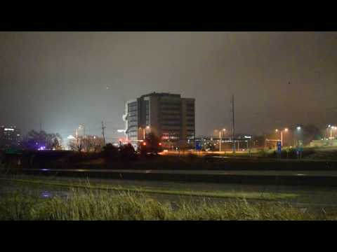 Overland Park, Kansas building implosion
