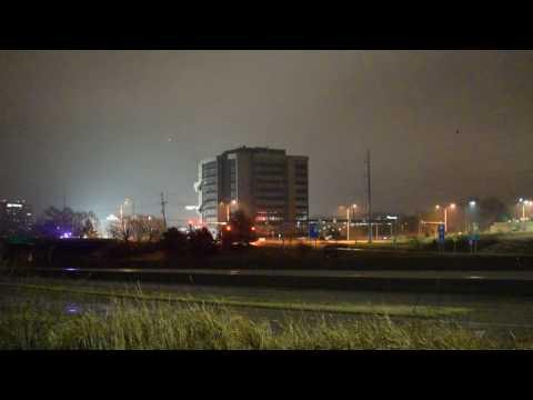 Overland Park, Kansas building implosion