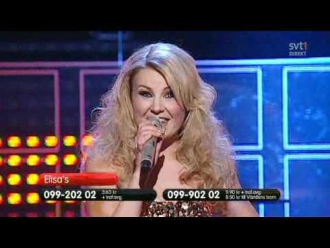 Elisas - För det här är bara början (Live) - Dansbandskampen 20101211