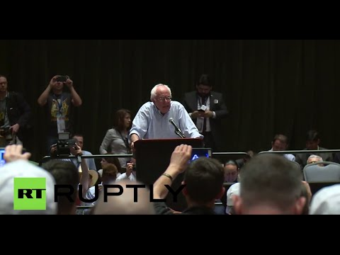 Bernie Booed: Sanders supporters yell as he urges they vote for Clinton
