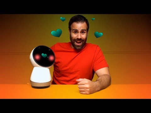 Unboxing Jibo : The Adorable Social Robot of the Future!