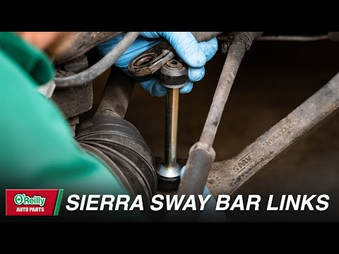 How To: Replace Sway Bar Links on a 1999-2007 GMC Sierra + Chevy Silverado