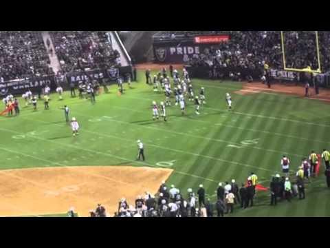 Phillip Sims TD To Williams Puts Cards Over Raiders #AZvOAK